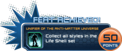Feat - Unifier of the Anti-Matter Universe
