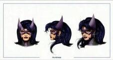 Huntress head