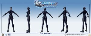 85419 dc ren icnchar catwoman multi