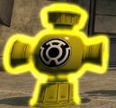 Yellow lantern battery