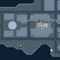 Map - Gotham University Expert Flight Challenge