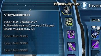 Affinity Slot