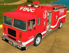 Der Feuerwehrwagen