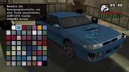 GTA SA Tuning Sultan Lack3 Blau