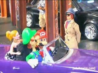 Robot Chicken GTA Mario