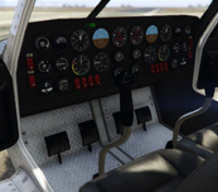 Cuban-800-Cockpit, GTA V