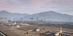 GTA5 Fort Zancudo View