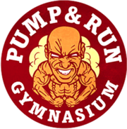 Pump and Run Gymnasium wortmarke