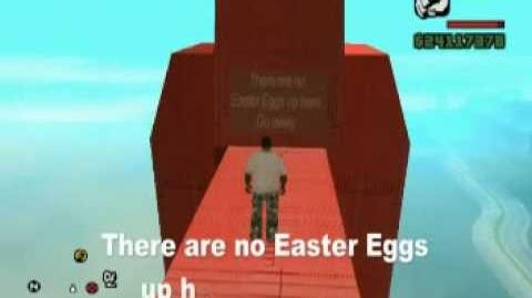 GTA San Andreas Easter Eggs