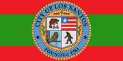 Flagge von Los Santos