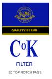 CoK-Filter-Verpackung