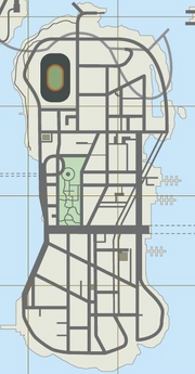 Staunton-Island-Karte, LCS