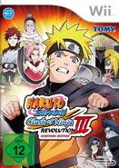 Naruto Shippuuden Clash of Ninja Revolution 3 Cover