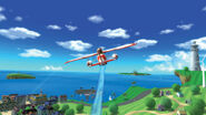 WSR island flyover