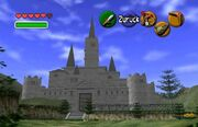 Schloss Hyrule in OoT
