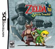 Spirit Tracks Cover