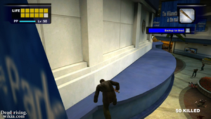 Dead rising walkthrough (4) awning jumping too