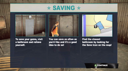 Dead rising 2 Case 0 saving explation screen saving