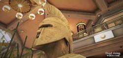 Dead rising Centurion Bust Palisades Mall