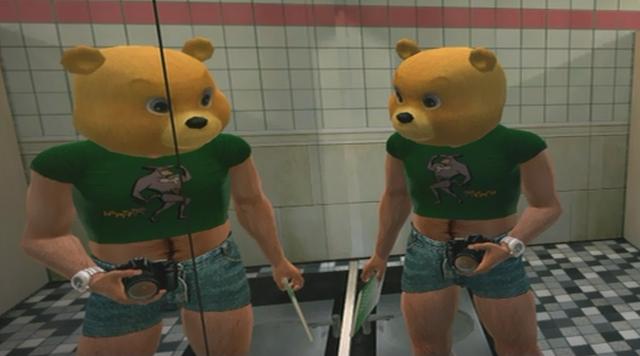 File:Tyke N Tots Ye Olde Toybox Teddy Bear Mask Green Ratmant t shirt (4).png