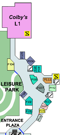 Dead rising Map paradise plaza smaller