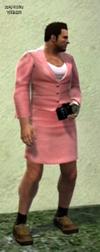 Dead rising clothing Pink Skirt