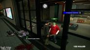 Dead rising Man in a bind in closet
