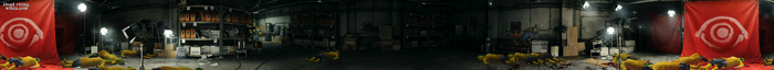 Dead rising cultist's hideout PANORAMA
