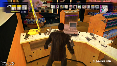 Dead rising cash register breaking