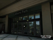 Dead rising leisure park sign from north plaza