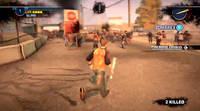 Dead rising 2 Case 0 quarantine zone approaching