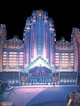 Dead rising Yucatan Casino panorama facade background