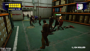 Dead rising infinity mode other zombies attack people