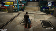 Dead rising out of control adam near stairs