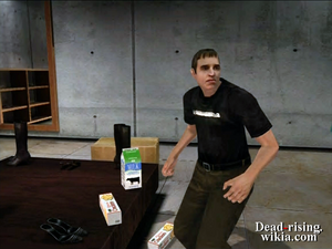 Dead rising aaron in webers next to food (2)