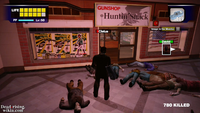 Dead rising huntin shack with toy laser sword (2)