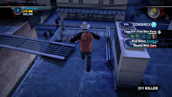 Dead rising 2 case 0 mommas diner roof to bobs (4)