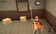 Dead rising case 0 safe house items closet push broom