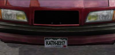 Dead rising license plate (2)