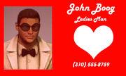 John Boog business card