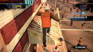 Dead rising 2 case 0 broadsword along roof (6)