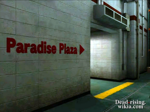 Dead rising paradise plaza arrow in warehouse