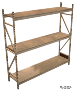 Dead rising Steel Shelving