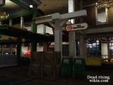 Dead rising creates in food court to jump on for carlito