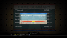 Dead rising 2 case 0 level up 5th after game failed