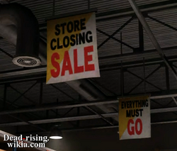 Dead rising hardware store going out of business