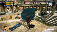 Dead rising parasol hitting zombies in al fresca (2)
