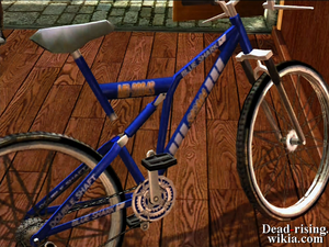Dead rising bicycle blue shark