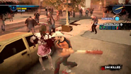 Dead rising 2 case 0 spiked bat waitress zombie
