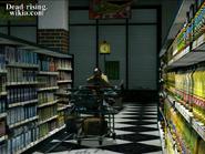 Dead rising medicine run steven aiming behind medical cart in seons